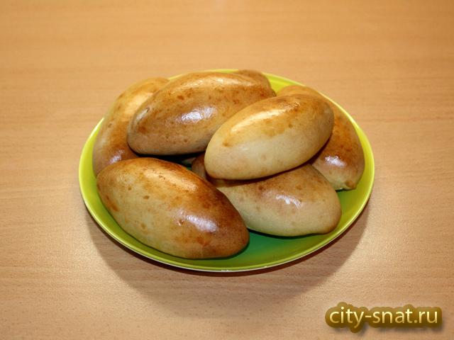 пирожки из сметанного теста в духовке рецепт