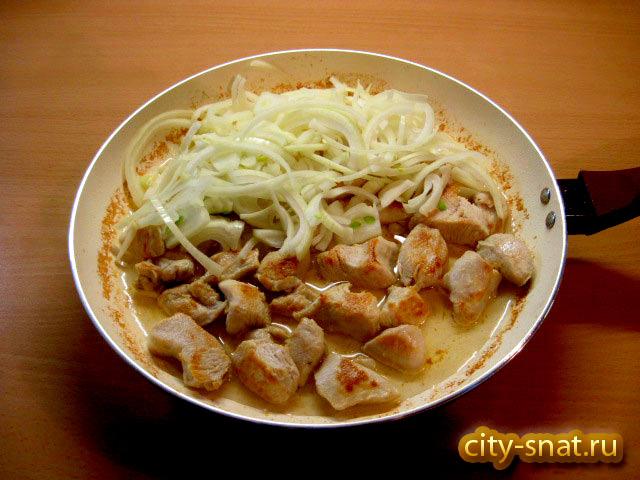 Филе индейки в сливках на сковороде рецепт 160