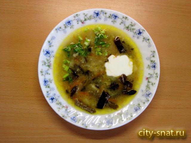 Суп с грибами и перловкой пошаговый рецепт с